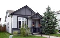 Detached three bedroom home for lease in Airdrie Alberta