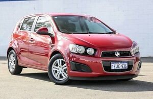 2013 Holden Barina TM MY13 CD Red 5 Speed Manual Hatchback Maddington Gosnells Area Preview
