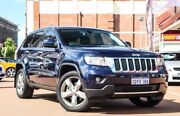 2012 Jeep Grand Cherokee WK MY2012 Limited Blue 5 Speed Sports Automatic Wagon Fremantle Fremantle Area Preview