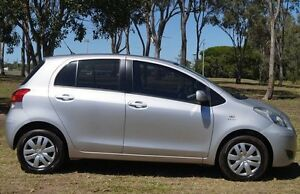 2010 Toyota Yaris NCP90R MY10 YR Silver 4 Speed Automatic Hatchback Bundaberg West Bundaberg City Preview