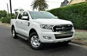 2015 Ford Ranger PX MkII XLT Double Cab 4x2 Hi-Rider White 6 Speed Sports Automatic Utility Medindie Walkerville Area Preview