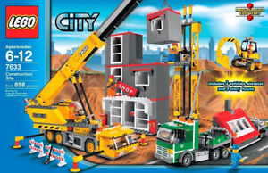 Brand New Sealed LEGO 7633 City Construction Site Retired