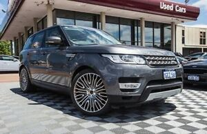 2014 Land Rover Range Rover Sport L494 MY14.5 V6SC CommandShift HSE Grey 8 Speed Sports Automatic Alfred Cove Melville Area Preview