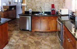 New Galley Style Kitchen w Black Granite Countertops