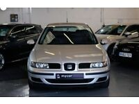 SEAT LEON 1.8 S 20V 5DR AUTOMATIC (grey) 2004