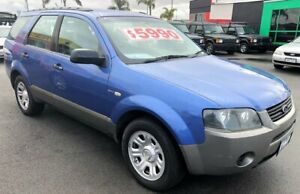 2005 Ford Territory 7 SEATER with RWC & REG 4 Speed Sports Automatic Wagon Cheltenham Kingston Area Preview