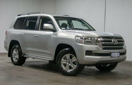 2017 Toyota Landcruiser VDJ200R GXL Silver 6 Speed Sports Automatic Wagon Welshpool Canning Area Preview