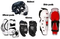 LOOKING FOR HOCKEY EQUIPMENT ASAP