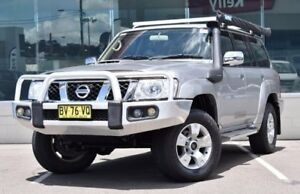 2013 Nissan Patrol Y61 GU 8 ST Silver 5 Speed Manual Wagon