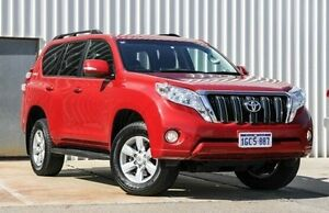 2015 Toyota Landcruiser Prado GDJ150R GXL Red 6 Speed Sports Automatic Wagon Willetton Canning Area Preview
