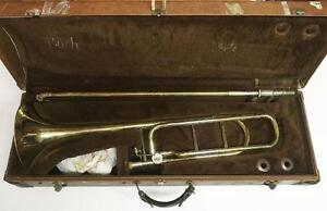 "Bach Stradivarius ""42BO"" F-Rotor Trombone Outfit"