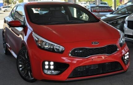 2014 Kia Pro_ceed  Red Manual Hatchback Glendalough Stirling Area Preview