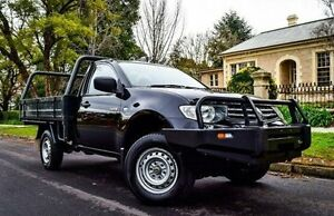 2010 Mitsubishi Triton MN MY10 GLX Black 5 Speed Manual Cab Chassis Medindie Walkerville Area Preview