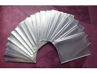 6 page Clear PVC menu holder A4 pockets sets x 18