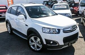 2015 Holden Captiva CG MY15 7 AWD LTZ White 6 Speed Sports Automatic Wagon Dandenong Greater Dandenong Preview