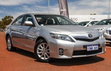 2010 Toyota Camry AHV40R MY10 Hybrid Silver 1 Speed Constant Variable Sedan Hybrid