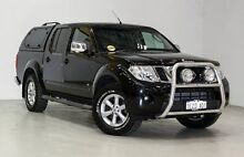 2012 Nissan Navara D40 S5 MY12 ST-X 550 Black 7 Speed Sports Automatic Utility Edgewater Joondalup Area Preview