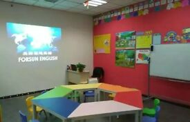 teaching assistant in china( competitive salary and free accommodation)