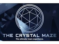 The Crystal Maze (London) - 6 tickets for Wednesday 5th April 2017 at 4pm