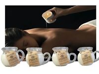 Soybean Hot Wax Massage Candle in Gift Box