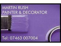 Martin Rush - Painter, Decorator & Handyman Services