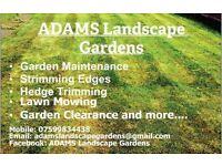 ADAMS Landscape Gardens
