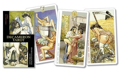 Decameron Mature Content Tarot Deck Cards Wiccan Pagan Metaphysical