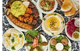 middle east chef looking for a job in london