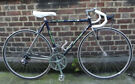 Racing bike JAN JANSSEN with small COLUMBUS custom frame, size 20inch - 14 speed Shimano - SERVICED