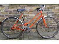 Unique vintage single speed MERCIER frame - size 19inch, made in 70ties in good condition