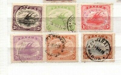 A very nice Papua group of 6 issues