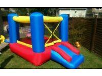 Kids bouncy castle with slide