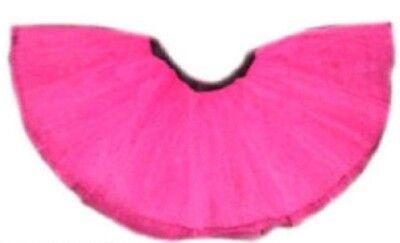 Neon Tutu Skirt I love 80s Fancy Dress Hen Party fun run Rock n Roll 18