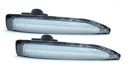 2 x LED Side Amber Indicator Marker (Clear Lens) BMW E65 E66 E67 (7 Series)