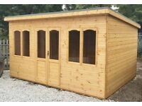 13ft x 8ft / 13ft x 10ft Summer House