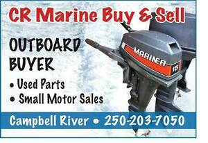 OUTBOARD BUYER Cr Marine 250-203-7050
