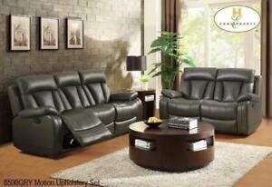 Living Room Recliner Set in Grey MA10 8500GRYUP (BD-1377)