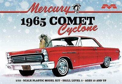 Moebius 1210 1965 Mercury Comet Cyclone Model Kit 1 25