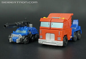 Transformers Generations Legends Optimus Prime and Roller Loose
