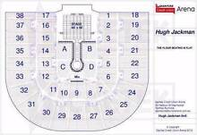 2x Hugh Jackman Tickets Great Seats Section 3 next to the stage Mudgee Mudgee Area Preview