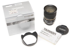 like new tamron 24 70 2.8 VC in box. canon EF mount