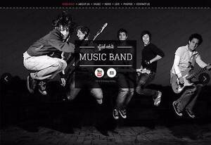Professional Website's For Bands! Alexandria Inner Sydney Preview