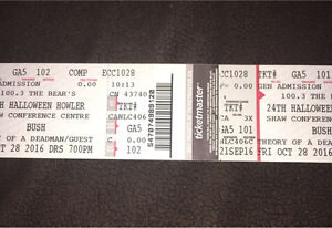 2 24th Halloween Howler tickets