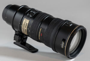 Nikon AF-S NIKKOR 70-200mm F2.8G ED VR IF ZOOM LENS W/Foot
