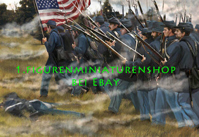 1:72 FIGUREN 153 US Infantry in Attack SET 2 - STRELETS NEU
