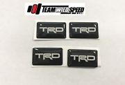 TRD Gel Style Badge 4pcs For Toyota Chaser Corolla Hilux Supra Wetherill Park Fairfield Area Preview