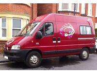 Campervan £6500 - Sleeps 2-3 - Good Service History