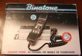 Very rare vintage Breakerphone CB radio