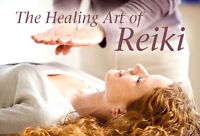 REIKI in SEPTEMBER - COURSES & TREATMENTS