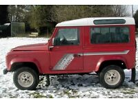Land Rover Defender Wanted pre 1993
